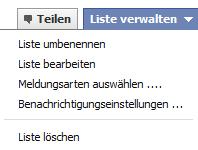 Listenverwaltung